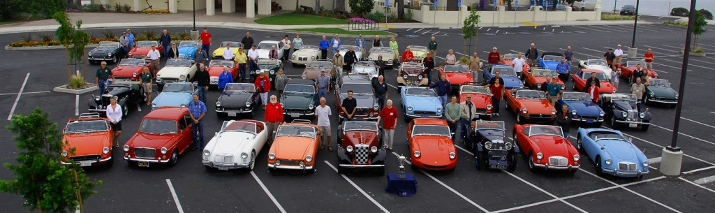 The San Diego MG Club