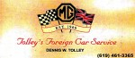 Tolley's Foreign Car Service