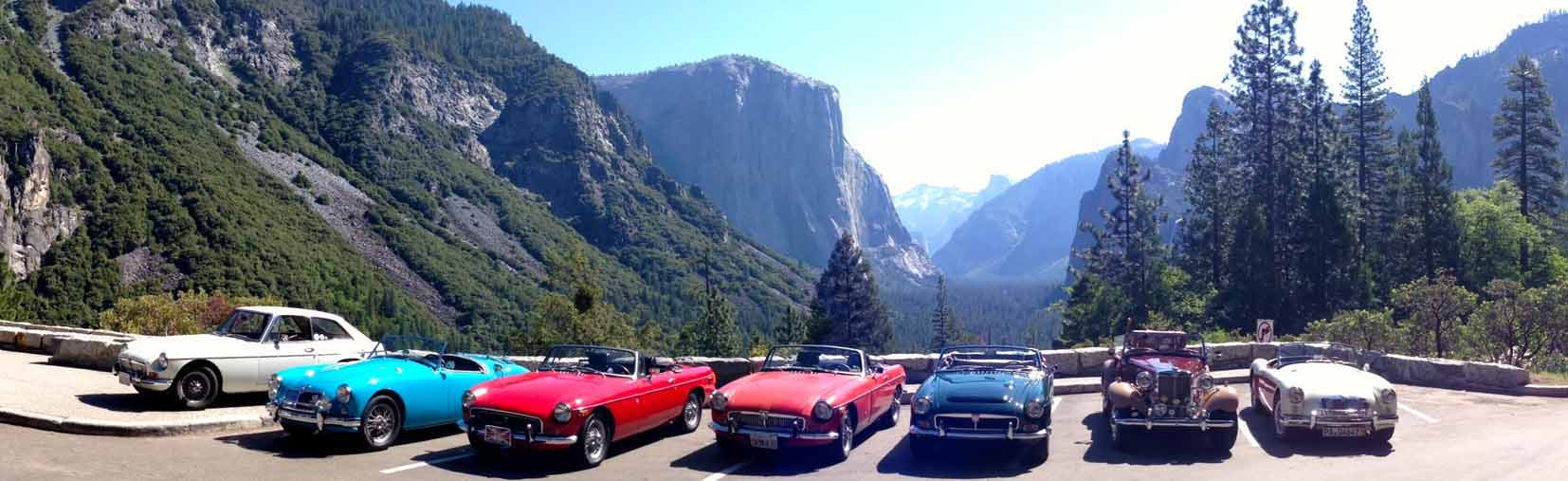 MG Club at Yosemite